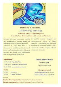 VIBRAZIONI SONORE E CORPO ENERGETICO @ Scareno (Aurano) VB